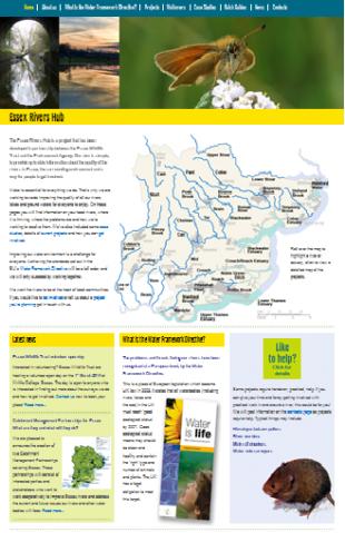 Essex Rivers Hub website