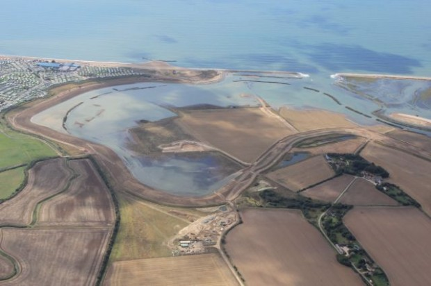 The Medmerry Flood Defence scheme has created fantastic new habitats for wildlife whilst reducing the risk of coastal flooding