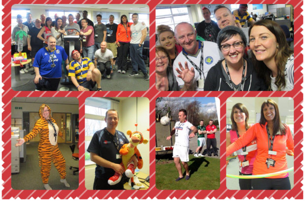 National Customer Contact Services get involved in Sport Relief