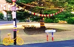 Otley residents are getting in the spirit of things, ready to welcome Le Tour de France