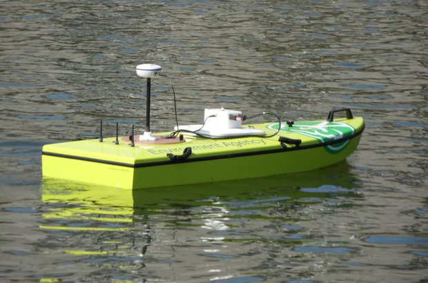 ARC - acoustic-remote controlled - boats help us collect important river data