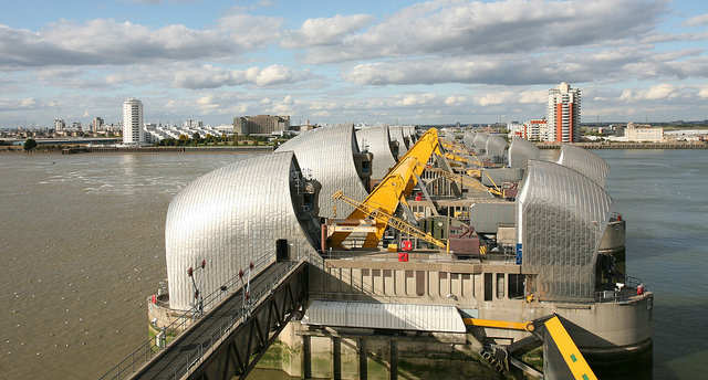 Thames Barrier views
