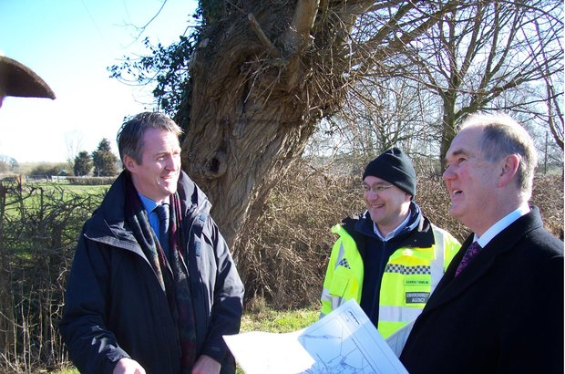 Plans were discussed between the Environment Agency and the community