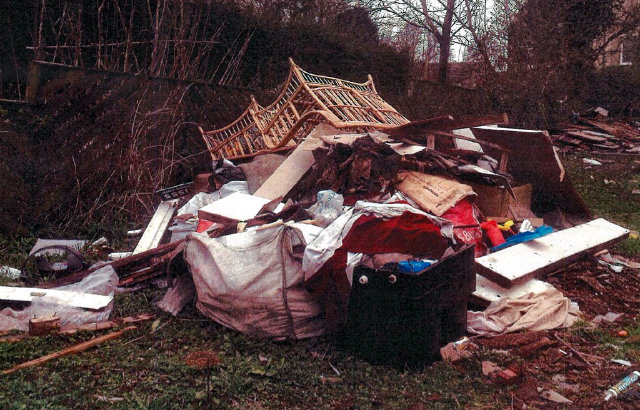 Pile of waste lead to jail sentence