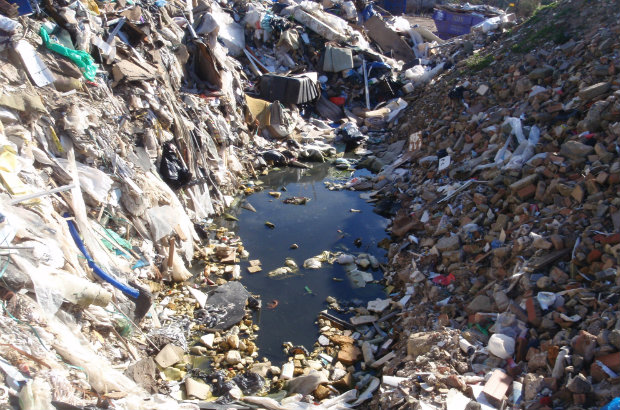 Poor compliance or illegal waste sites can cause damage to the environment.