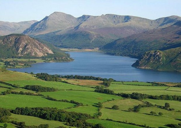 A view of Ennerdale Water and Surrounding Fells