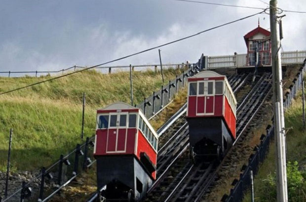 Famous lifts at Saltburn by the Sea