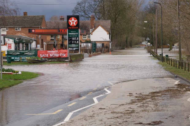 Upton on Severn flooding 2008