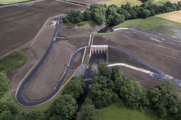 Morpeth flood scheme 1