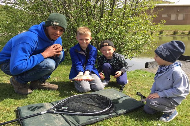 Get Hooked on Fishing encourages young people to give fishing a go