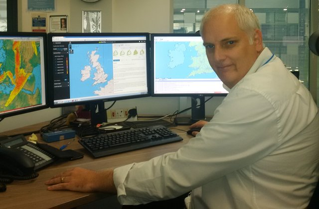 Brian's job is to ensure all our forecasts are delivered on time and are accurate.