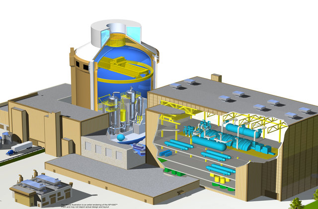 Graphic of the The Westinghouse AP1000® design
