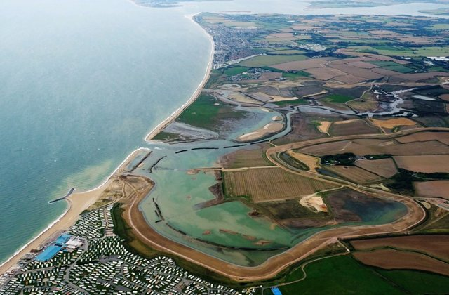Medmerry, the UK's largest managed realignment scheme