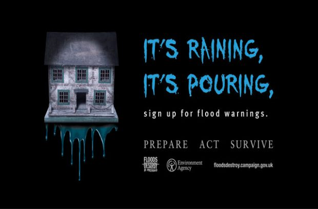 Flooding campaign poster