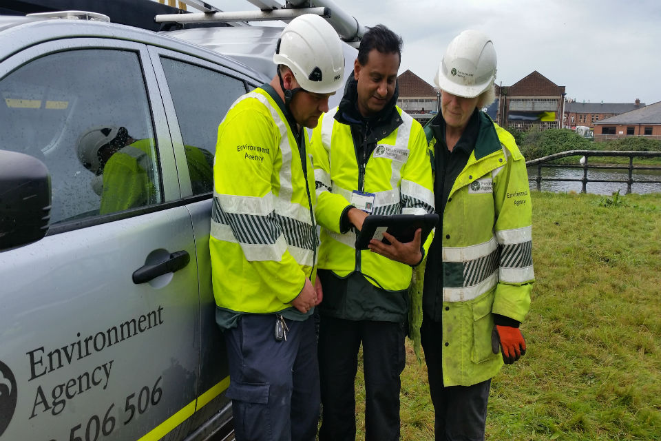 Environment Officers carry out a wide range of tasks in the office and out on the ground.