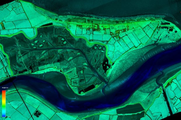 Laser-mapping the country will help the Environment Agency better understand flood risk