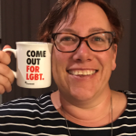 Lisa Pinney, MBE, is Area Director for the West Midlands and founder of the Environment Agency's LGBT+ network